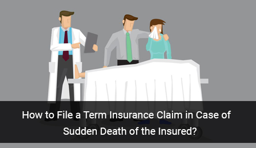 How to File Term Insurance Claim in Case of Sudden Death of Insured