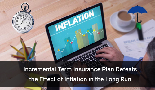 Incremental Term Insurance Plan in India