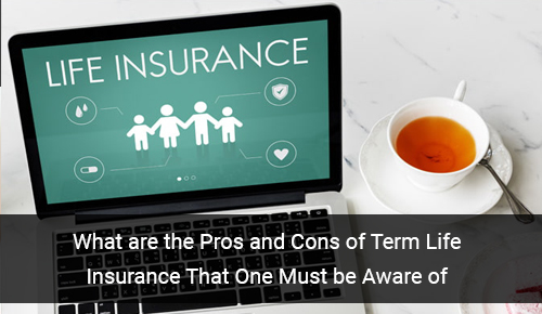 Pros and Cons of Term Life Insurance that One Must be Aware of
