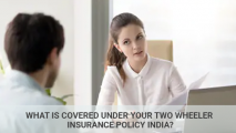 What Is Covered Under Your Two Wheeler Insurance Policy India