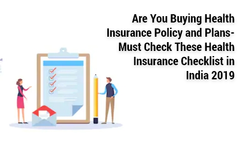 8 Point Checklist for Buying Health Insurance in India