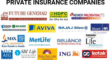 Private Insurance Companies- Best Top Private Insurance Companies in India- 2019