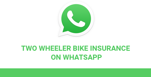 Two Wheeler Bike Insurance on WhatsApp