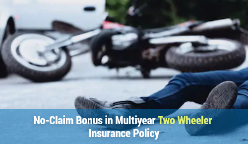 No-Claim Bonus in Multiyear Two Wheeler Insurance Policy