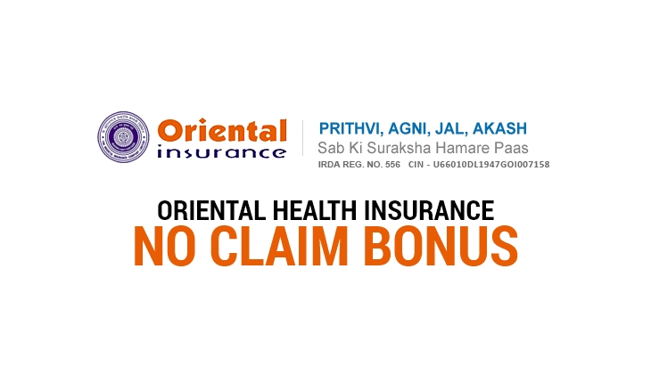 Oriental Health Insurance No Claim Bonus