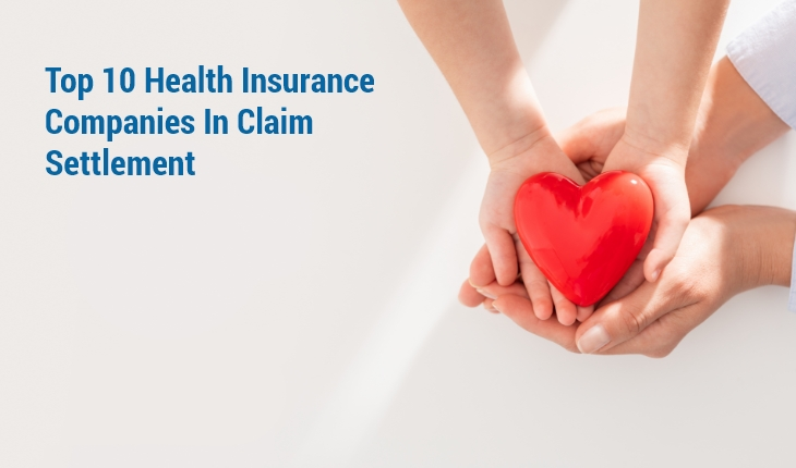 Top 10 Claim Settlement Ratio Health Insurance Companies in India