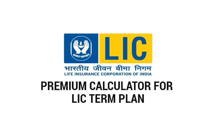 LIC Term Plan Premium Calculator