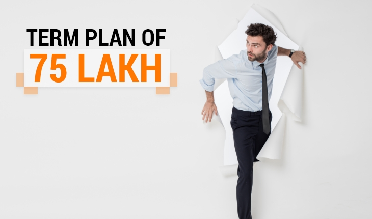 Best Term Insurance Plan for 75 Lakh