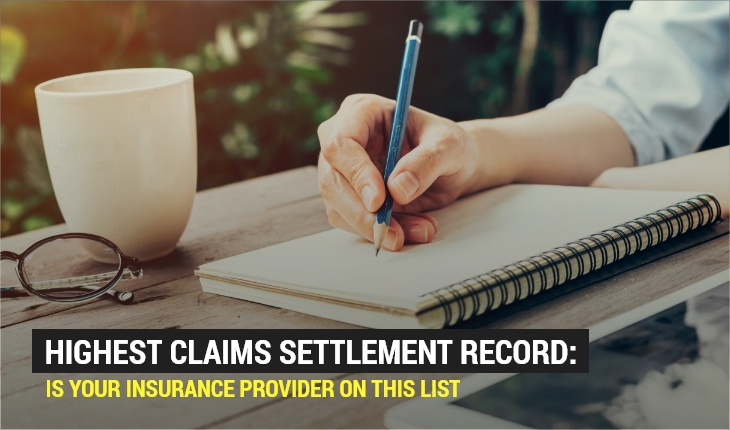 Highest Claims Settlement Record: Is Your Insurance Provider on This List