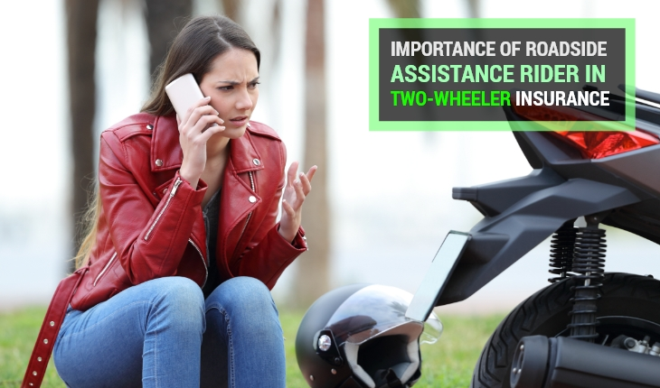 Importance of Roadside Assistance Rider in Two-Wheeler Insurance