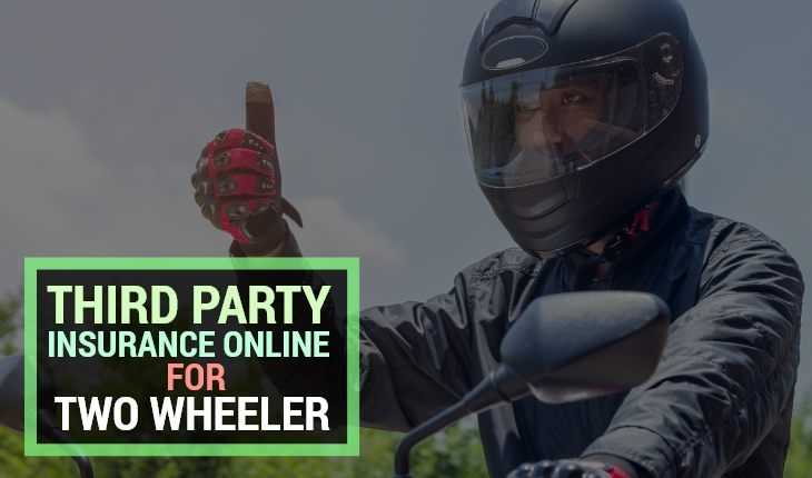 Third-Party Insurance Online for Two- Wheeler