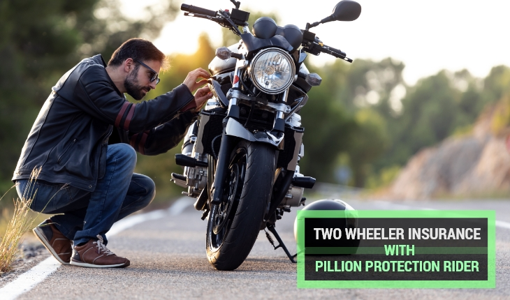Two Wheeler Insurance with Pillion Protection Rider