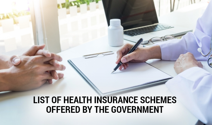 List of Health Insurance Schemes Offered By The Government