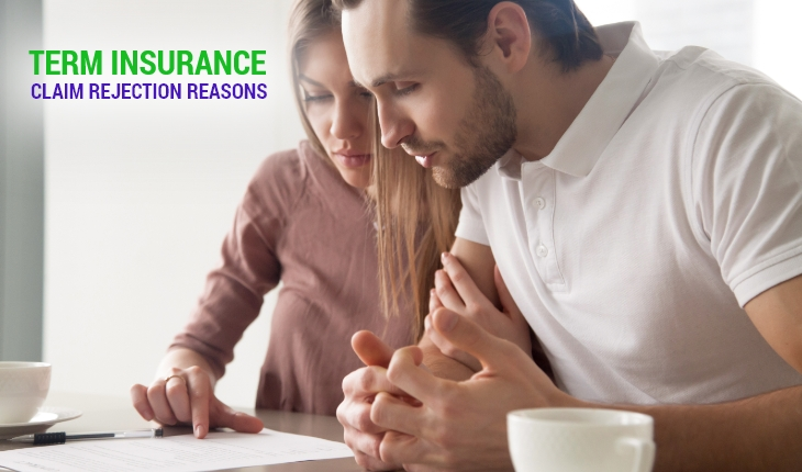 Term Insurance Claim Rejection Reasons