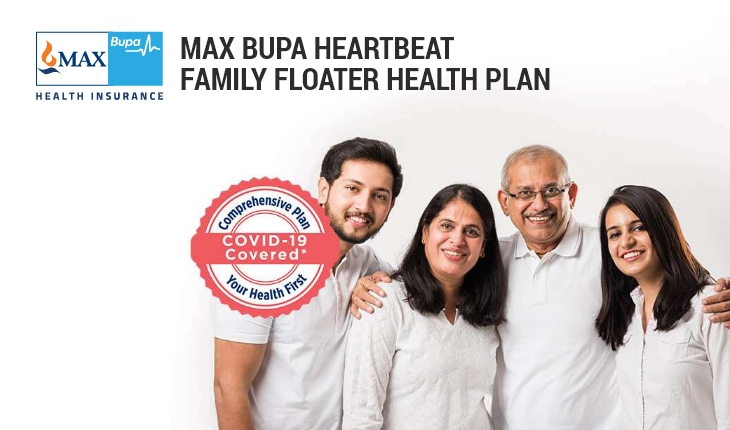 Max Bupa Heartbeat Family Floater Health Plan