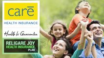 Religare Joy Health Insurance Plan
