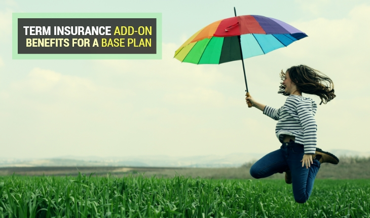 Term Insurance Add-on Benefits for a Base Plan