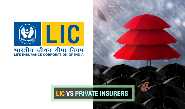 LIC vs Private Insurance Companies