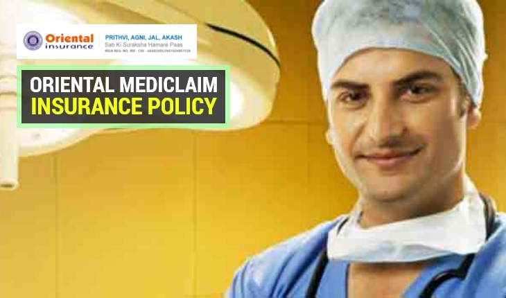 Oriental Mediclaim Insurance Policy