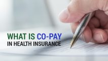 What is Co-pay in Health Insurance